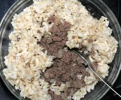 Rice & Hamburgers