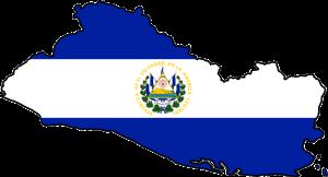 El Salvador Flag & Map