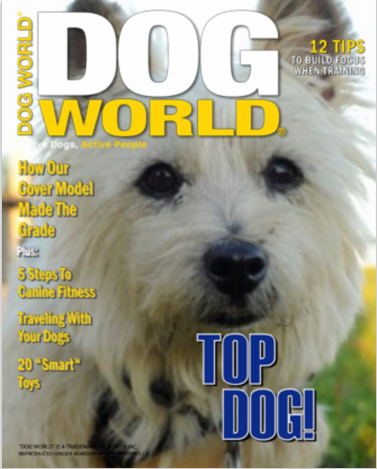 Dog World cover gal