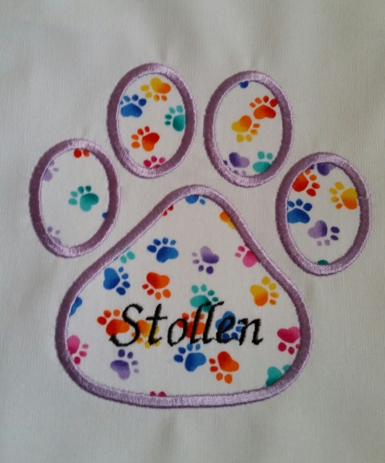 Stollen's Paw Print Square