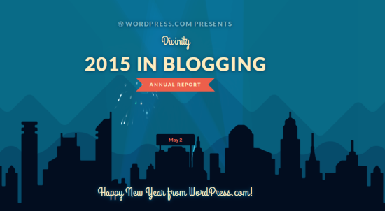 WordPress Reviews Divinity's blog for 2015