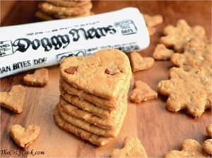 Peanut Butter & Bacon Treats