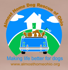 Almost Home Dog Rescue of Ohio - logo
