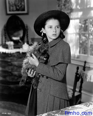 Terry as Rex with Virginia Weidler in Bad Little Angel (1939)