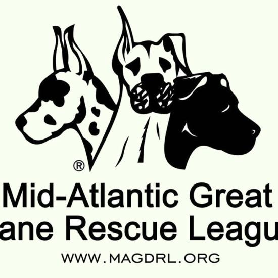 Mid-Atlantic Great Dane Rescue - Logo